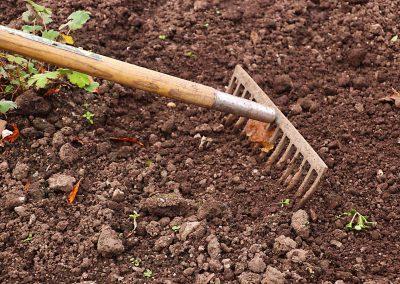 Grondstoffen voor tuinaanleg